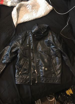 Boys H&M leather biker Jacket
