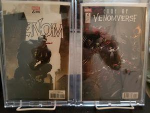 Venom #5 (Clayton Crain 1:100) Edge of Venomverse #1 (Francesco Mattina)