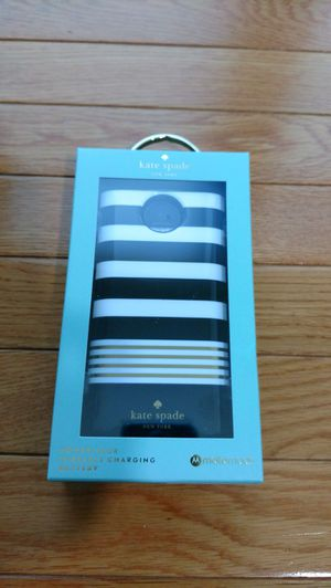 Kate Spade New York Moto Mod Wireless charging Battery Power Pack *NEW*