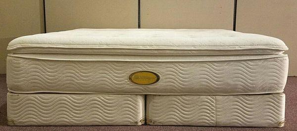 simmons world class mattress. great king size simmons(world class pillow top mattress set*i deliver* simmons world class i