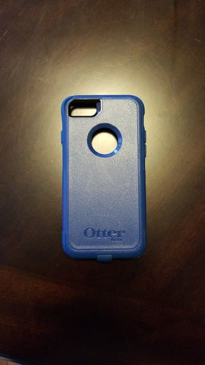 iPhone 7S Otter box case Dark Blue