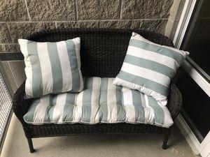 Pier 1 patio sofa w cushions