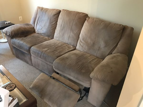 Two reclinable couches for sale