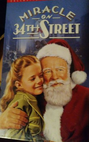 """Miracle on 34th Street """"VCR/VHS Movie"""""""
