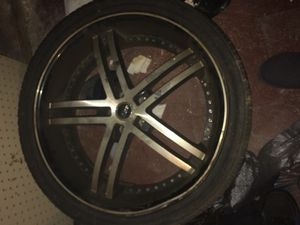 Set of 4 22 inch status rims