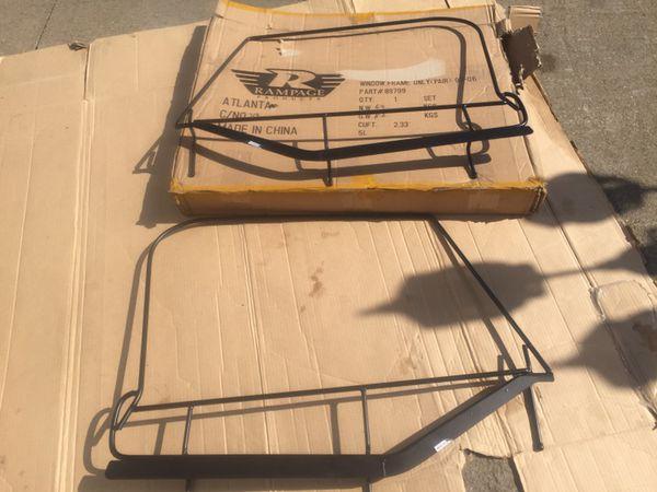 97-06 Jeep Wrangler TJ half softop door widow frames rampage (Auto ...