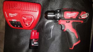 Milwaukee M12 drill with battery and charger brand new