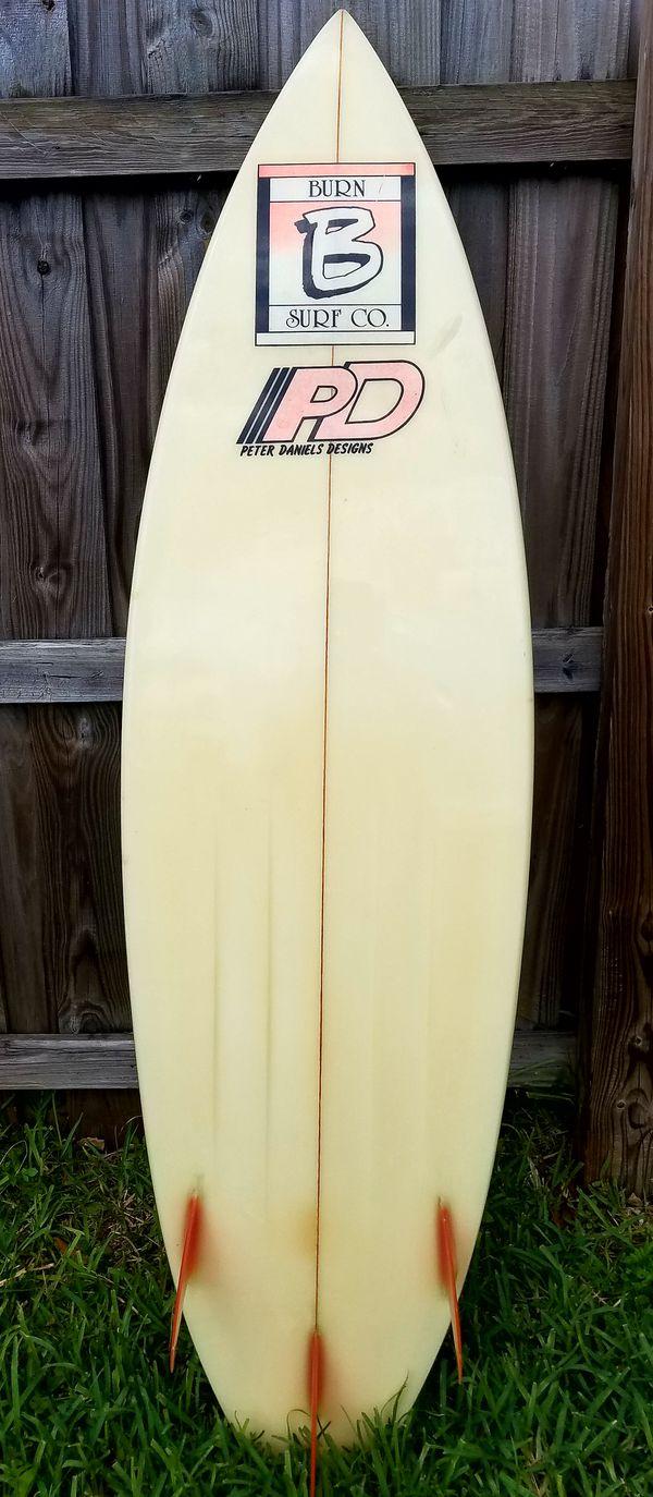 Vintage Peter Daniels Design Surfboard (Sports & Outdoors) in Miami, FL