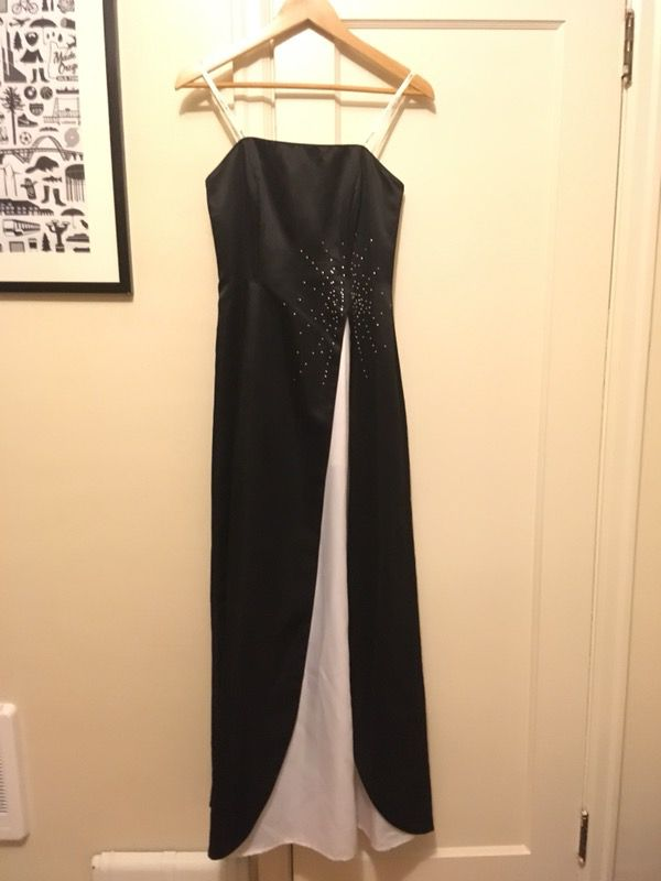 Strapless black prom dress (Clothing & Shoes) in Portland, OR - OfferUp