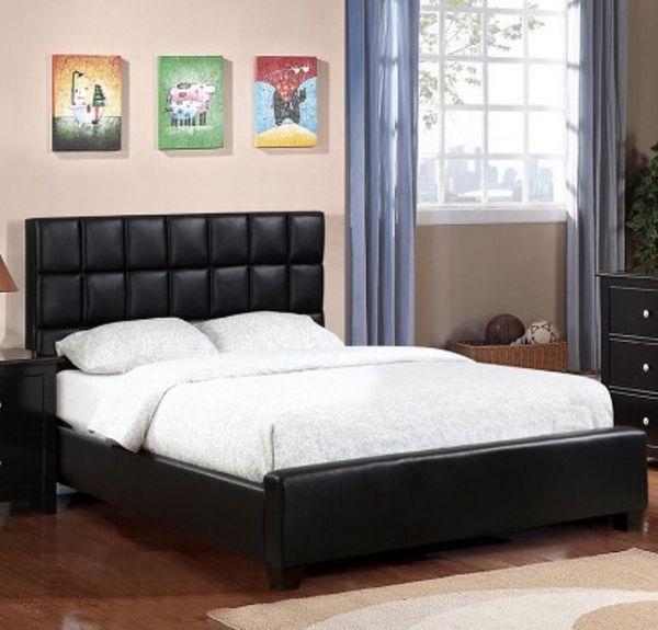 FULL BED BLACK
