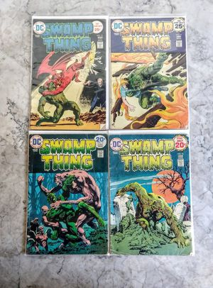 Comic Book Lot - DC Swamp Thing