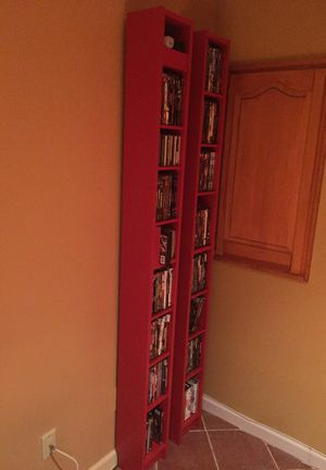 Must go today (9/3): Red bookcase (movies not included)