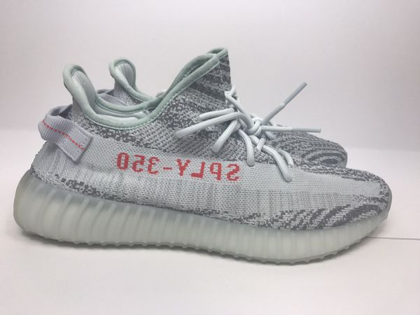 adidas Yeezy Boost 350 V2 Blue Tint Size 9 UK