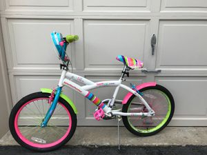 Colorful little miss sunshine bicycle