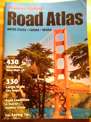 Road Atlas of U.S., Canada and Mexico