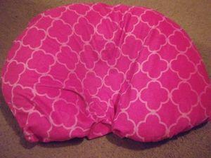 Baby girl boppy pillow
