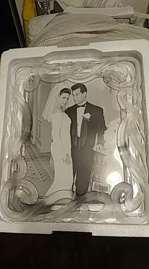 Exelent Fifth Avenue Crystal Picture Frame Photo - Ideas de Marcos ...