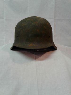 World War II German Helmet Battlefield War Relic authentic