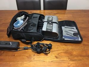 ResMed S9 Elite CPAP Breathing Machine with H5i Humidifier Travel Case Mask and Tubes OBO