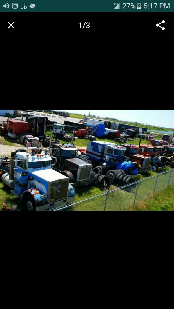 We buy your junk trucks we pay cash on the spot free Towing (Farming ...