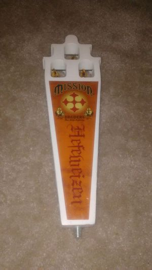 Mission Brewery Beer Tap Handle