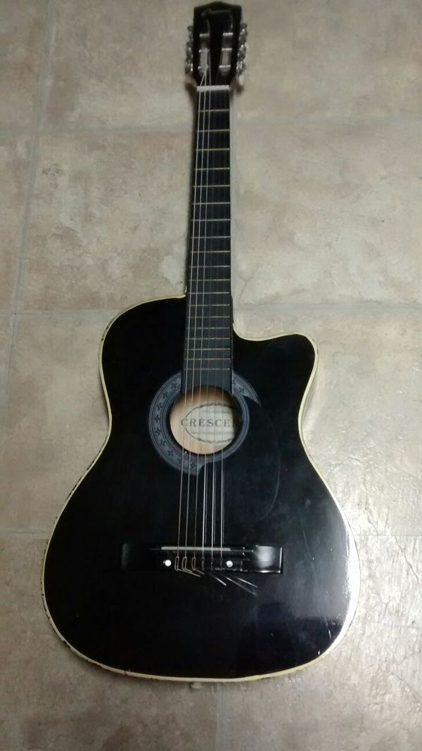 crescent classic acoustic guitar musical instruments in marysville wa offerup. Black Bedroom Furniture Sets. Home Design Ideas