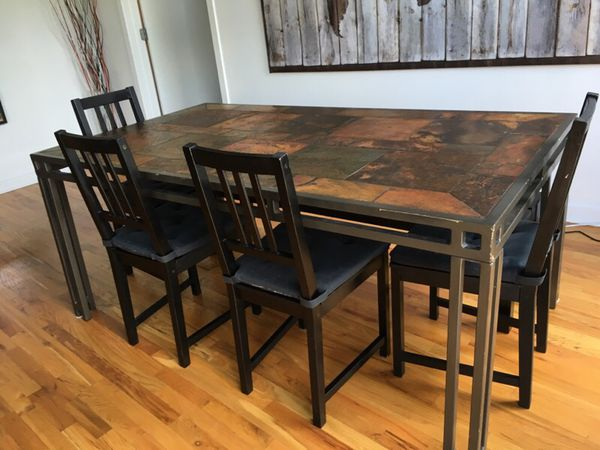 Dining table furniture in chicago il offerup for Furniture 60614