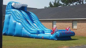 Inflatable water slide (XL tidal wave)