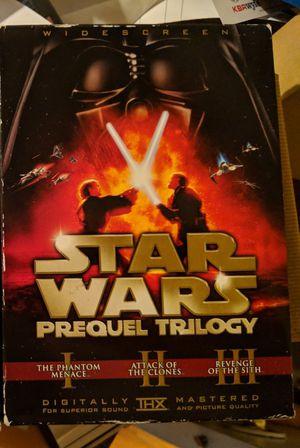 Star Wars Prequel Trilogy 6-Disc DVD Slipcase Set