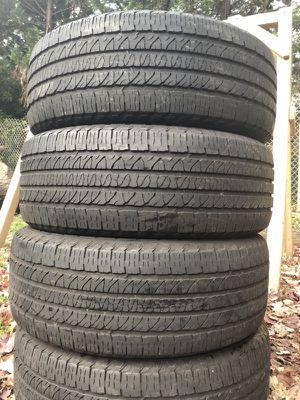 4 good use tires Goodyear Fortera 265/50/20