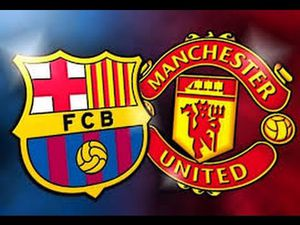 Fc Barcelona vs Man united at FedEx Field