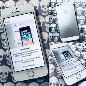 AT&T Apple iPhone 5s, 32GB Silver