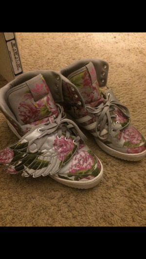 Floral Jeremy Scott's sz 10.5