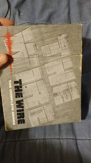 The complete seasons of The Wire
