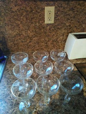 Punch bowl glasses