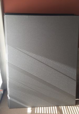 Office partition 5 panel 5ftx4ft