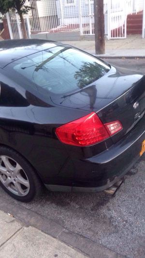Infiniti g35 2003 just needs tune up take it as it is !