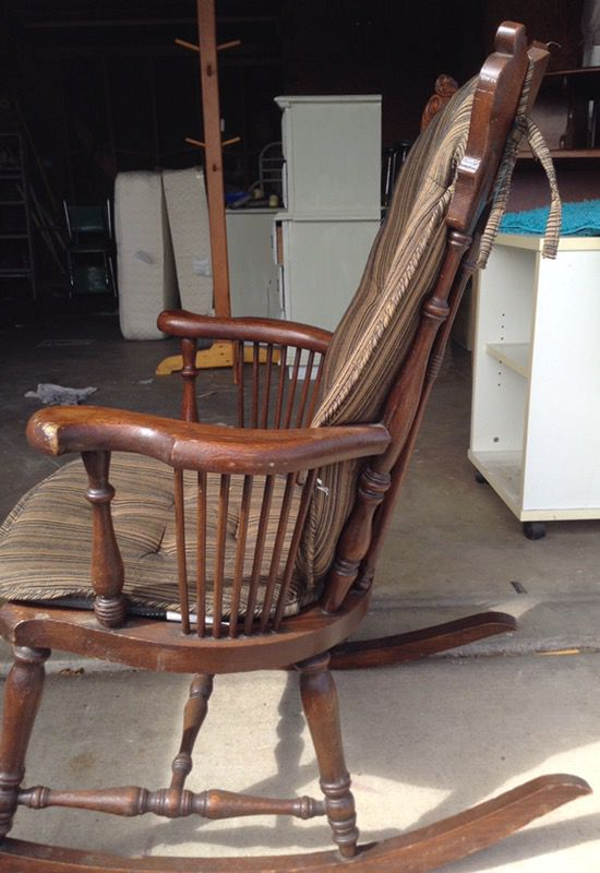 Sikes Rocking Chair Antique Antiques In Las Vegas Nv