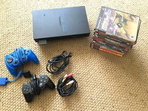 PS2 with 2 controllers 12 games