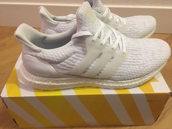 adidas ACE 16 PureControl Ultra Boost Solar Yellow/White