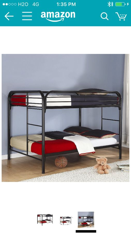 Coaster Full Over Full Bunk Bed Brand New In The Box Furniture In