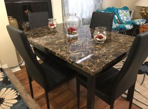 Dining Table With 4 Chairs New In The Box