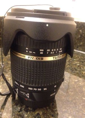 Tamron lens for canon