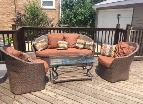 4 Piece Patio Furniture Sports Outdoors In Chicago Il Offerup