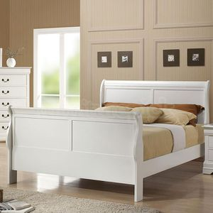 Brand New Full Size Wood Sleigh Bed Frame ONLY