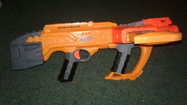 Amazon: Nerf Doomlands Double Dealer Blaster $14.36 (Regular Price $40)