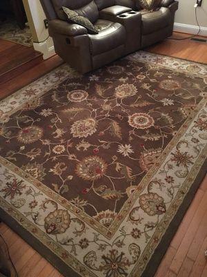Area wool rug 8x10