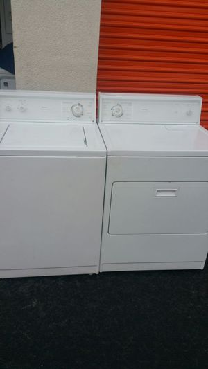 Set Dryer and washer Kenmore