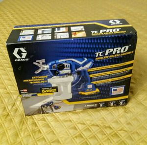 GRACO TC PRO Cordless Airless Handheld Powered by Dewalt MAX XR Batteries SEALED !!