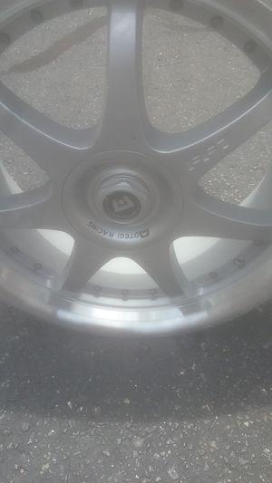 Used OTEGI RACING FF7 Tire RIMS